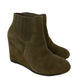 Restricted Westgate Suede Wedge Boots US Size 9